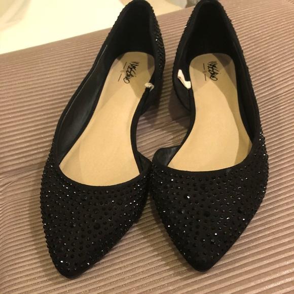 694b9576cd Mossimo Supply Co Shoes | Black Sequin Flats | Poshmark
